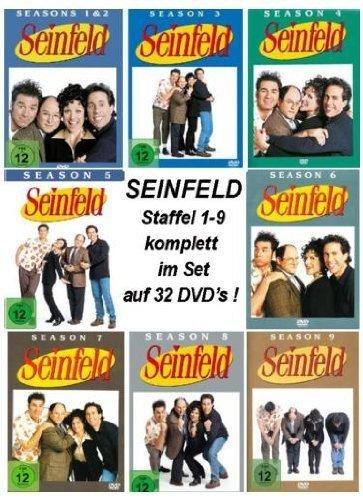 Seinfeld - Season 1-9 (32 DVDs)