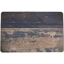 Villa d 'Este Home Tivoli 2413557 Juego de 6 manteles individuales, madera Azul, 28 x 44 x 1 cm