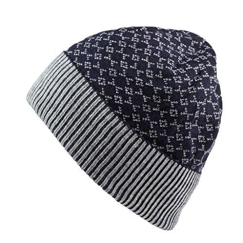 decentron-gorro-de-invierno-clido-gorros-sherpa-lined-knit-beanie-cap-gorro-de-acrlico-reloj-negro-a