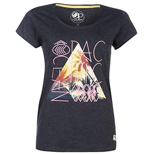 ocean-pacific-damen-foto-hals-t-shirt-ladies-kurzarm-scooped-tee-top-bekleidung-blau-10-s