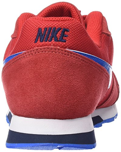 Nike Md Runner 2 Gs, Baskets Basses Mixte Enfant Rouge (University Red/Pht Blue-Obsdn)