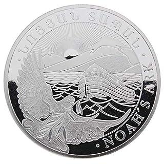 LEV Silbermünze Armenien 2015 - Arche Noah - Noah's Ark - 1 kg (1 Kilo) - unzirkuliert - einzeln in Münzkapsel verpackt