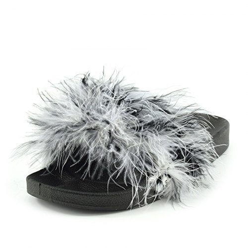 Kick Footwear  Kick Footwear, Sandales pour femme Schwarz-Weiß