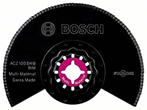 Bosch lame segment ondulée BIM ACZ 100 SWB, accessoire Starlock