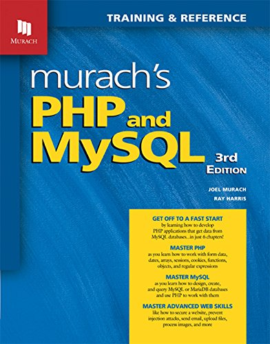 Pdf murach s php and mysql 3rd edition ebook epub kindle by murach s php and mysql 3rd edition joel murach ray harris anne boehm on amazon com free shipping on qualifying offers i cant count how many php books fandeluxe Image collections