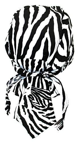 Kostüm Zebra Herren - Alex Flittner Designs Bandana Cap Zebra