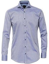 Venti Herren Businesshemd 162544600 Kentkragen tailliert Baumwolle Slim Fit