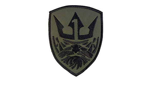 2AFTER1 OD MOH King Neptune Medal of Honor Morale Olive Drab Green Sew Iron on Patch