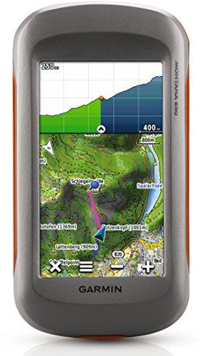 Garmin Montana 650 GPS-Handgerät mit wasserdichtem 4' (10,2 cm) Touchscreen, Straßennavigation mit Sprachausgabe und ActiveRouting