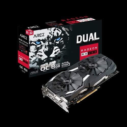 ASUS AREZ-Dual-RX580-O8G (8GB,DVI,HDMI,DP,Active) -
