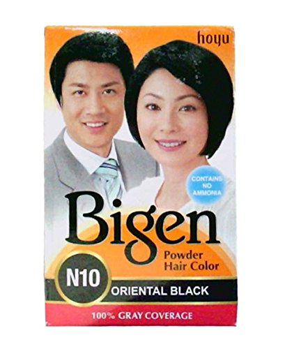 Bigen Powder Hair Color, Oriental Black N10