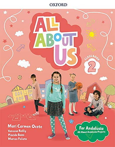 All About Us 2 Class Book Pack Andalusian Edition