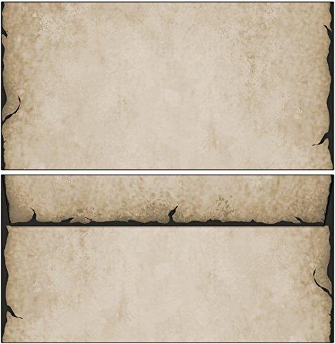 Briefumschläge Motiv antik DIN lang ohne Fenster (20 Kuverts)