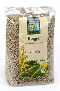 Bohlsener Mühle Roggen, 10er Pack (10 x 1000 g ) - Bio von Bohlsener Mühle