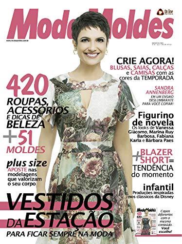 Moda Moldes 54 (Portuguese Edition) de [Editora, On Line]