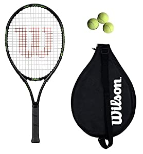 "Wilson Blade 25"" Tennis Racket + 3 tennis balls RRP £60 Review 2018"