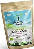 TheHealthyTree Company Granos de Cacao Crudo Orgánico - Magnesio, Fibra, Potasio y Hierro - Excelente en yogurt, cereales y batidos - Nibs de Cacao (250g)