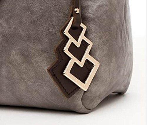 Fabelhaft Neue Art- Und Weise Retro- Handtaschen-beiläufige Schulter-Kurier-Beutel Black