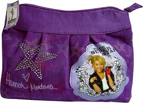 United Labels - 0805535 - Schminktasche - Hannah Montana, Disney (Baumwoll-jersey United)
