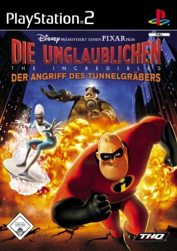 THQ Entertainment GmbH Die Unglaublichen - The Incredibles: Der Angriff des Tunnelgräbers