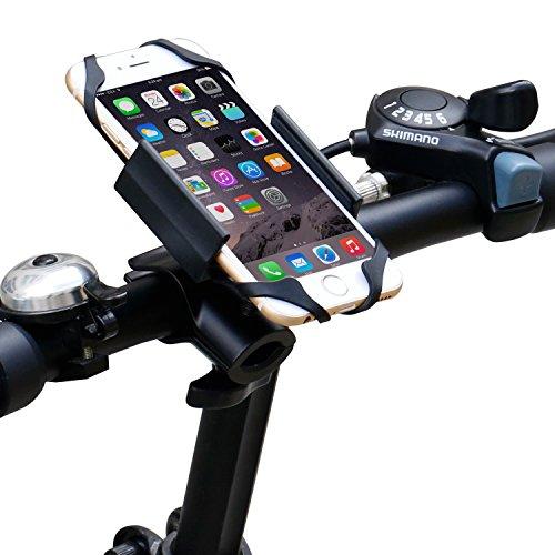 ipow universal fahrrad handyhalterung mit metall sockel. Black Bedroom Furniture Sets. Home Design Ideas