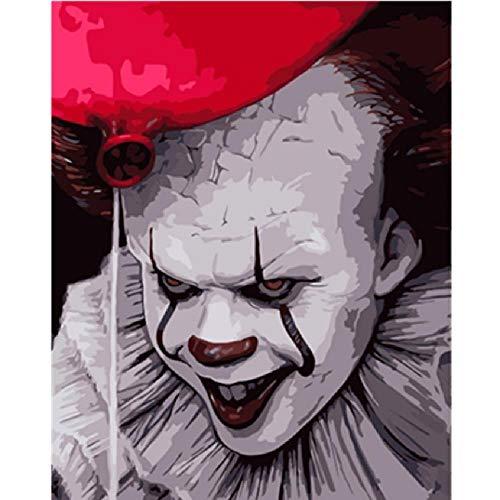 MAIYOUWENG Jumbo-Größe Holzpuzzle Scary Clown Charakter Bild Hohe Qualität Große Größe 1000 Teile Holzpuzzle, Einzigartige Hauptdekorationen Und Geschenke