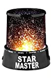 #9: Divinezon Star Master Projector With Usb Wire / Colorful Romantic LED Cosmos Star Master / Sky Star Night Projector Bed Light Lamp