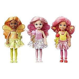 Barbie Chelsea Fairy Doll Assortment - Muñecas, Femenino, Chica, 3 año(s), De plástico