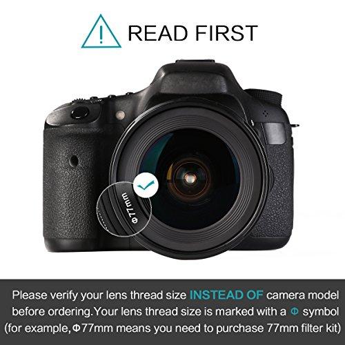 Beschoi Borsa Fotografica Impermabile a Tracolla per Reflex SLR DSLR Canon Sony Nikon Olympus (Blu)
