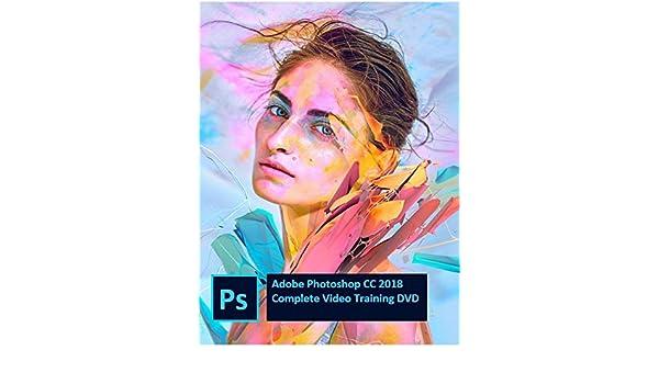Adobe Photoshop CC 2018 Video Tutorial in 10 DVDs (2018