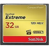 SanDisk Extreme CompactFlash UDMA7 32GB bis zu 120MB/Sek Speicherkarte
