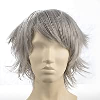 Namecute Parrucca con capelli lunghi e ricci, da donna