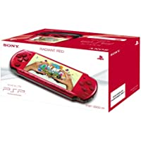 Sony PSP 3000 Series Slim and Lite Handheld Console (Red)
