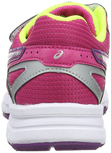 ASICS Pre Galaxy 8 PS, Chaussures Multisport Outdoor Mixte enfant Rose (Hot Pink/Silver/Purple 2093)
