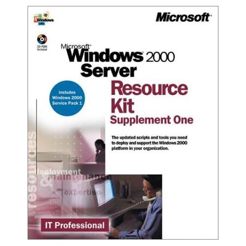 Windows 2000 Server. Resource kit supplement one, CD-ROM