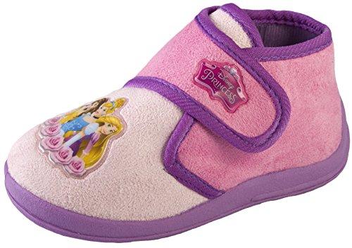 Disney Mädchen Hausschuhe Pink Princess - Pink/Purple