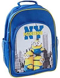 Preisvergleich für Minions Despicable Me Jungen Schultasche - blau