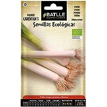 Semillas Ecológicas Hortícolas - Puerro Carentan 3 - ECO - Batlle