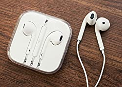 Genric Original & Genuine Apple Power Beat Earphone compatible for Apple iphone 5,5s,6,6s,6plus,6splus,7 And I Pad With In-built mic for calling Wired Headset with Mic��having 3.5 mm jack (White, In the Ear) Wired Headset