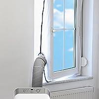 Wuudia - Junta para ventanas de aire para aire acondicionado móvil y secador de aire de escape, placa de sellado para ventanas