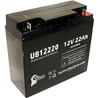 Replacement Elgar/Ametek SPF550 Battery - Replacement UB12220 Universal Sealed Lead Acid Battery (12V, 22Ah, 22000mAh, T4 Terminal, AGM, SLA)