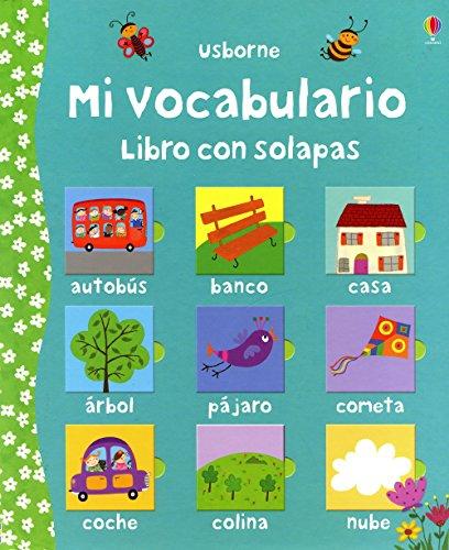 Mi vocabulario - libro con solapas