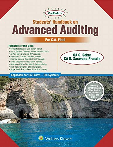 Students Handbook on Advanced Auditing: For CA Final Old Syllabus