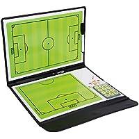 amazingdeal365Pizarra Táctica de fútbol tarjeta de PVC con markier lápices, goma de borrar, 24imanes