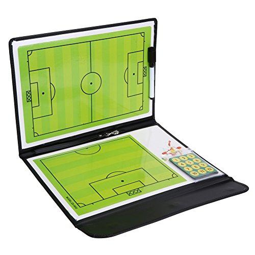 Amazingdeal365 Taktiktafel Fußball Board aus PVC mit Markierstifte, Radiergummi, 24 Magneten
