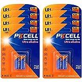 1.5V 1/2AA Size Alkaline Battery Model Lr1 Count Pcs (16)