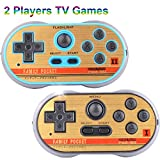 Retro Games Controller Mini Classic Handheld Consola de Juegos Juguetes Para Niños Gamepad Joystick Support Dual Battle Carga en 260 TV Video Juegos Childhood Plug & Play Gaming Station (Azul)