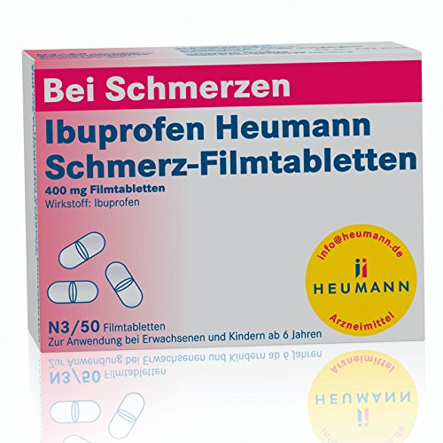 Ibuprofen Heumann Schmerz 50 stk - Paracetamol Medizin