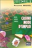 Telecharger Livres Casino mode d emploi (PDF,EPUB,MOBI) gratuits en Francaise