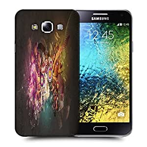 Snoogg Targets And Shapes Printed Protective Phone Back Case Cover ForSamsung Galaxy E5